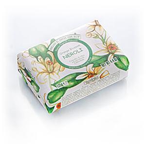 Мыло натуральное растительное с оливковым маслом «Нероли»