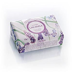 Мыло натуральное растительное с оливковым маслом «Лаванда»