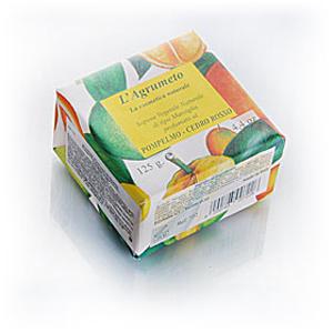 Мыло натуральное растительное с эфирным маслом грейпфрута