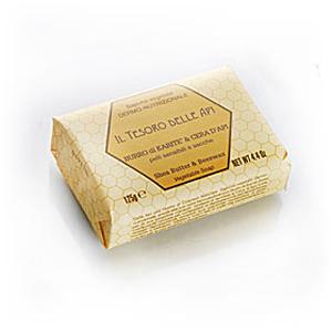 Мыло натуральное растительное с маслом карите и пчелиным воском