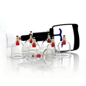 Набор вакуумных массажных банок с насосом