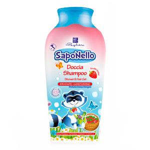 Детский гель-шампунь для тела и волос «Красные фрукты»