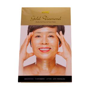 Гидрогелевая алмазная маска для лица и шеи