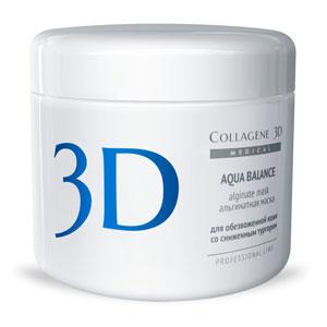 Альгинатная пластифицирующая маска «Aqua Balance» с гиалуроновой кислотой для лица и тела