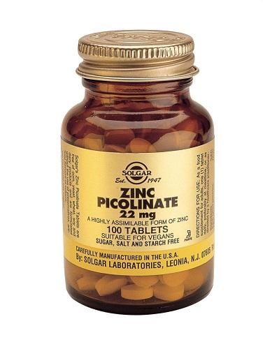 Пиколинат цинка 100 таблеток (Минералы)