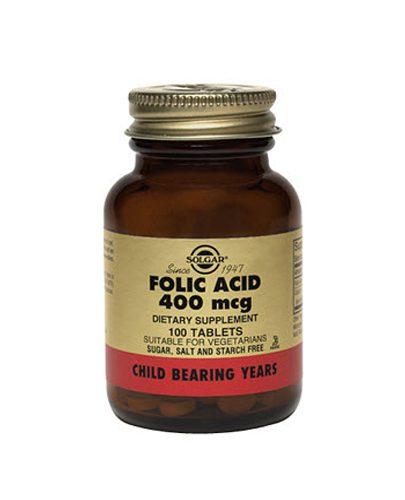 Таблетки Фолиевая кислота №100 (Витамины)