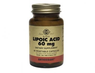 Альфа-липоевая кислота для увелечения физической выносливости 30 капсул (Суплементы)
