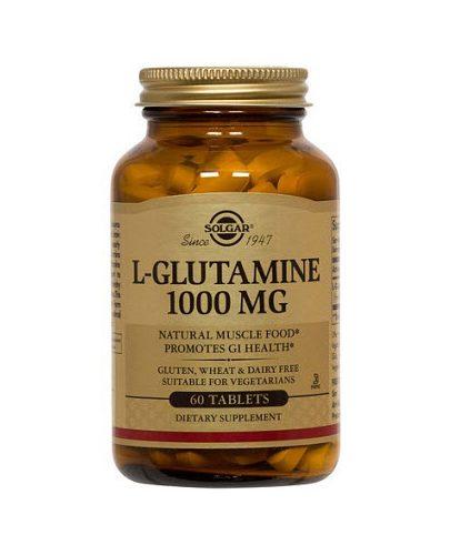 Таблетки L- Глутамин №60 1000 мг (Специальные добавки)