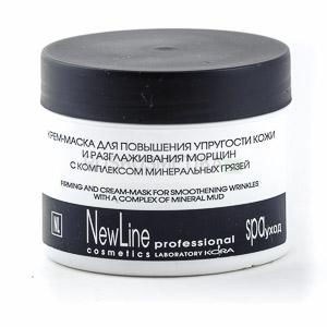 Крем-маска для повышения упругости кожи и разглаживания морщин