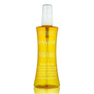 Защитное масло с комплексом витаминов для защиты кожи от старения SPF-15