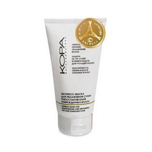 Экспресс-маска для увлажнения сухих и восстановления поврежденных волос