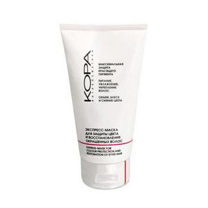 Экспресс-маска для защиты цвета и восстановления окрашенных волос