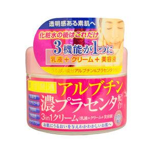 Крем с арбутином и плацентой для лица