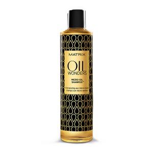 Шампунь «Oil Wonders Micro-Oil Shampoo» с микро-каплями масла