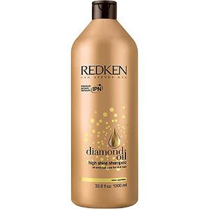 Шампунь «Diamond Oil High Shine» обогащенный маслами для тонких волос