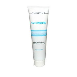 Увлажняющий азуленовый крем с коллагеном и эластином для нормальной кожи