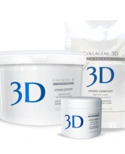 Альгинатная маска для лица и тела с экстрактом алое вера 200 г (Hydro Comfort)