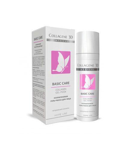 Коллагеновая Гель-маска для чувствительной и склонной к аллергии кожи 30 мл (Basic Care)