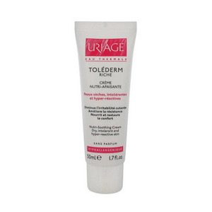 Крем «Uriage Tolederm Rich» питательный успокаивающий для сухой кожи