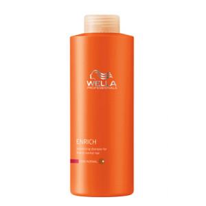 Питательный шампунь для объема нормальных и тонких волос