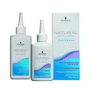 Комплект «Natural Styling 0» для химической завивки для труднозавиваемых волос