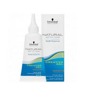 Креативный гель 1 «Natural Styling» для химической завивки нормальных волос