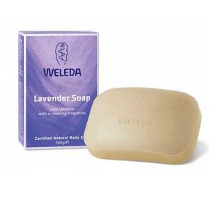 Лавандовое растительное мыло