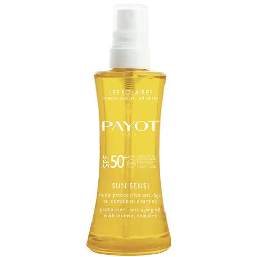 Защитное антивозрастное масло с комплексом витаминов для волос и тела SPF 50