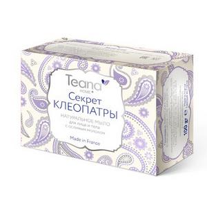 Натуральное мыло с ослиным молоком «Секрет Клеопатры» для сухой и чувствительной кожи лица и тела