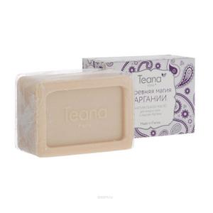 Натуральное мыло с маслом арганы «Древняя магия аргании» для сухой и чувствительной кожи лица и тела
