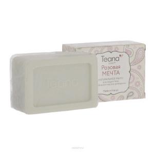 Натуральное мыло с эфирным маслом розмарина «Розовая мечта» для жирной и проблемной кожи лица и тела