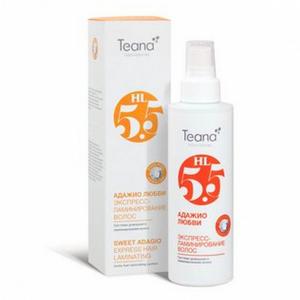 Спрей экспресс-ламинирование волос «Адажио любви» с аминокислотами