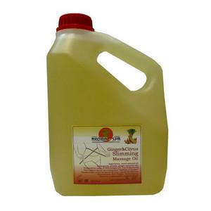 Массажное масло для похудения «Цитрус и имбирь»