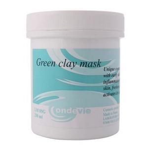 Маска кремовая с зеленой глиной