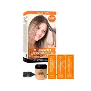 Набор «Кератиновое выпрямление и восстановление волос»
