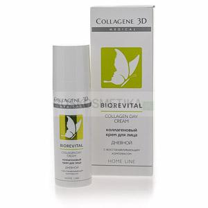 Коллагеновый крем с восстанавливающим комплексом «Biorevital» дневной для лица