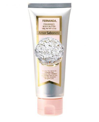 Крем-масло парфюмированное для тела Амор Сабонет 100 мл (Fernanda уход за телом)