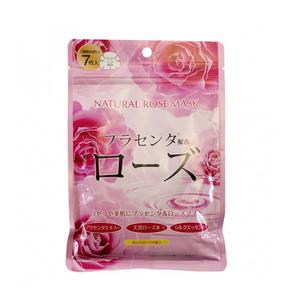 Курс натуральных масок с экстрактом розы для лица