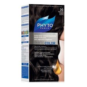 Краска ФИТОКОЛОР «3G Темный шатен глясе» для волос