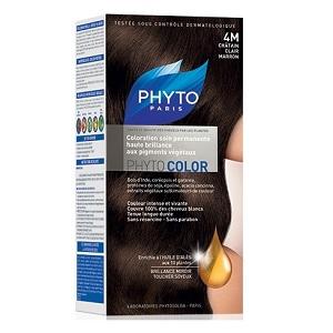 Краска ФИТОКОЛОР «4M Светлый каштан» для волос