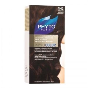 Краска ФИТОКОЛОР «4MC Шатен Каштановый шоколад» для волос