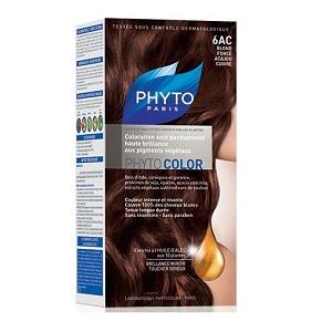 Краска ФИТОКОЛОР «6AC Темный блонд Медь-красное дерево» для волос
