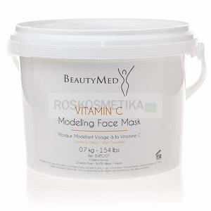 Отбеливающая пластифицирующая альгинатная маска с витамином С для лица