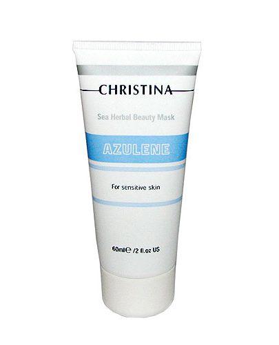 Азуленовая маска красоты для чувствительной кожи 60 мл (Sea Herbal Beauty)