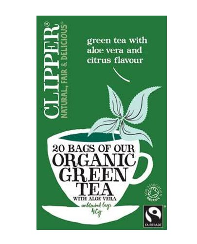 Зеленый чай с Алоэ Вера Органик. (Green Tea)