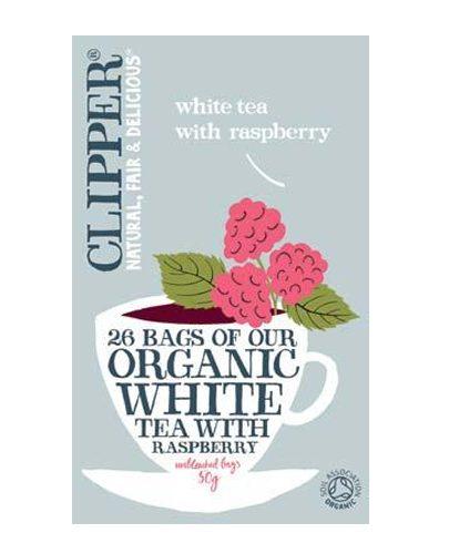 Белый чай с Малиной Органик (White Tea)