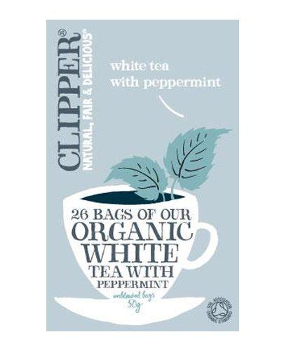 Белый чай с Мятой Органик (White Tea)