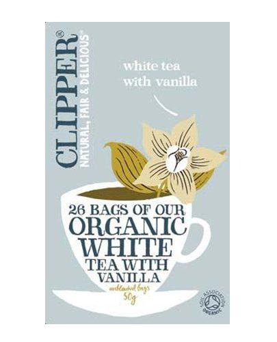 Белый чай с Ванилью Органик (White Tea)