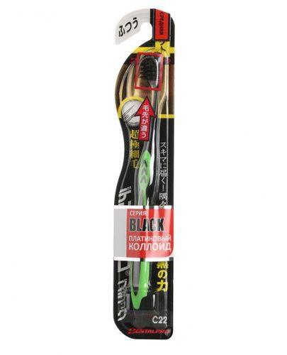 Black Ultra Slim Plus Щетка зубная средней жесткости 1 шт (Щетки Dentalpro)