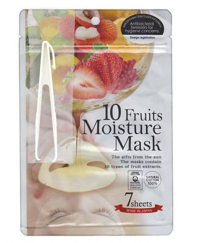 Japan Gals Маска с экстрактами 10 фруктов Pure5 Essential 7 шт (Pure5)